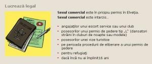 Sexul comercial este legal în Elveţia