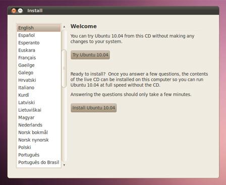 ubuntu pe aspireone-6