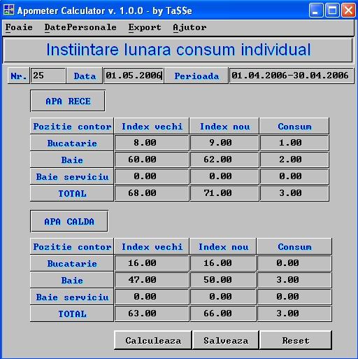 Aşa arată o aplicaţie XBasic