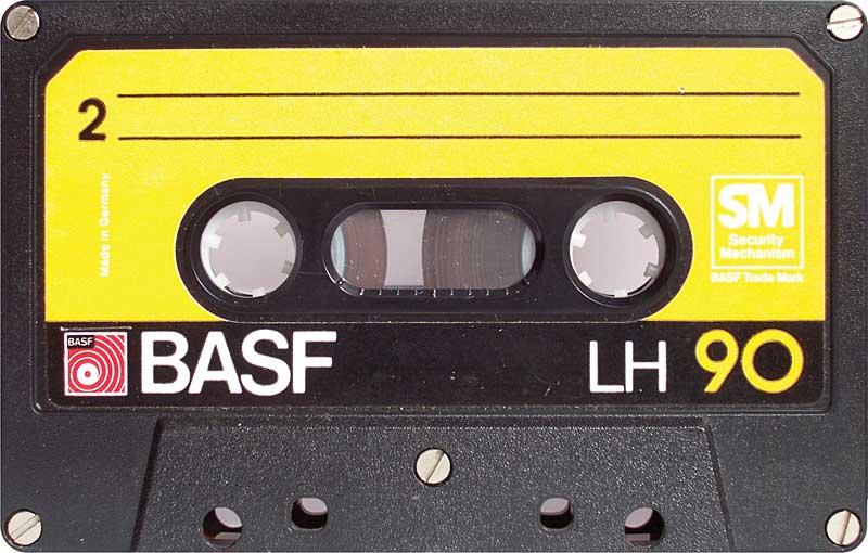 caseta basf