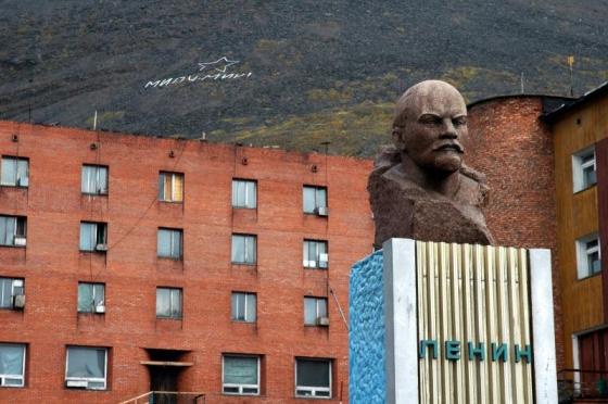 Barentsburg Lenin