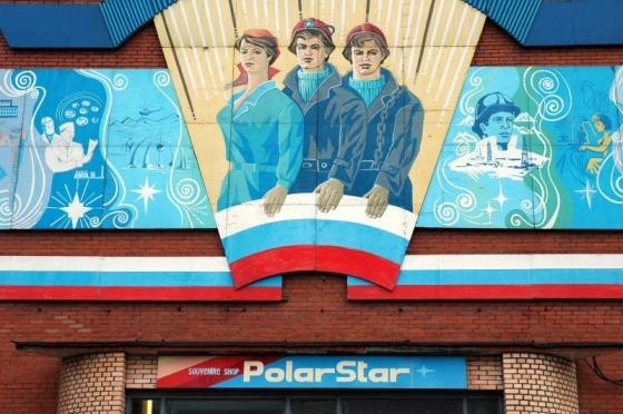 Barentsburg PolarStar Propaganda