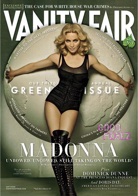 Madonna in Vanity Fair