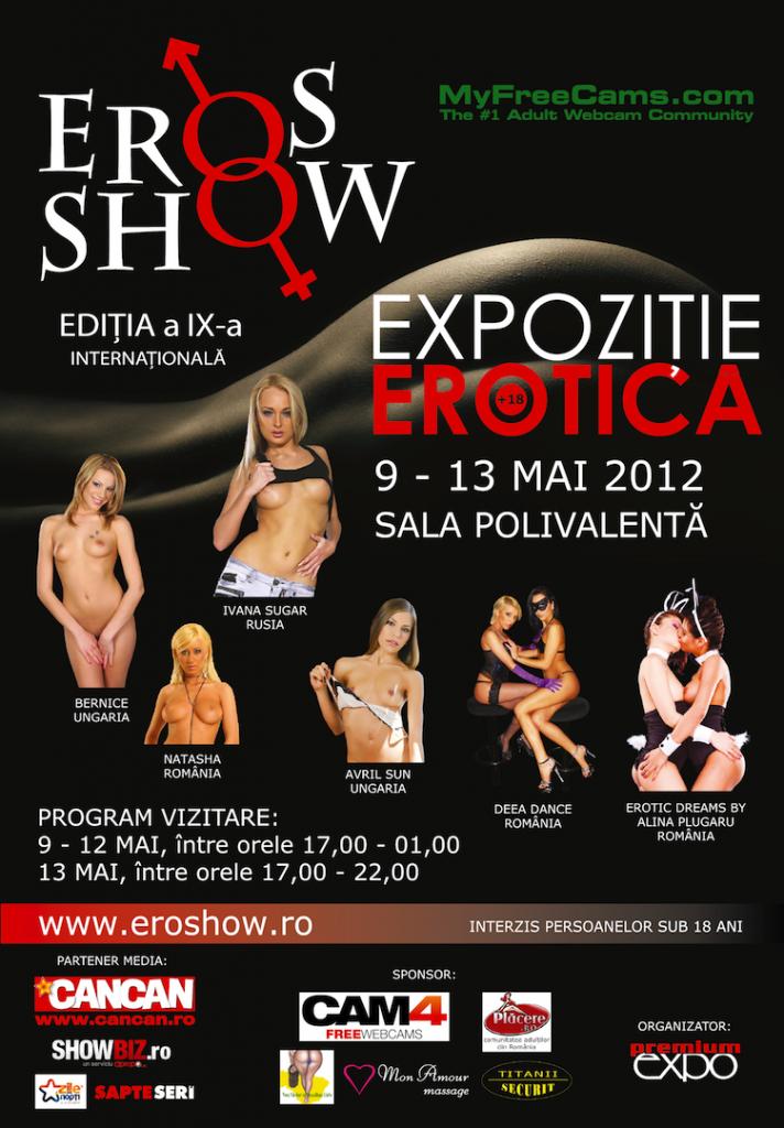 Afis Eros Show 2012