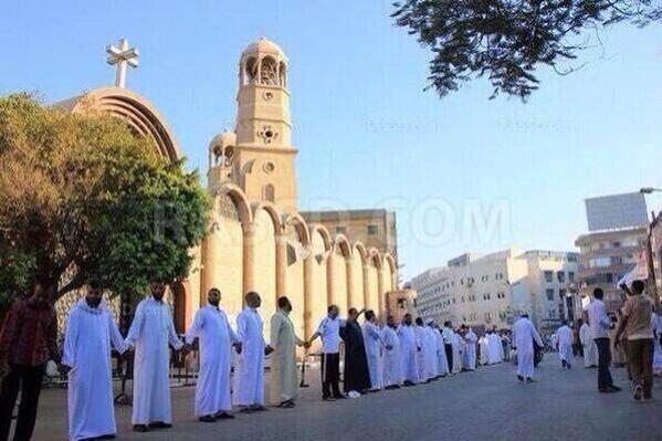 musulmani protejand crestini