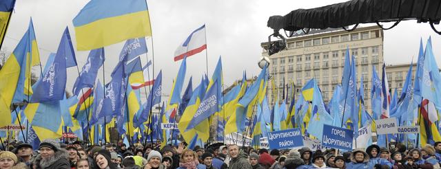 protest ucraina kiev