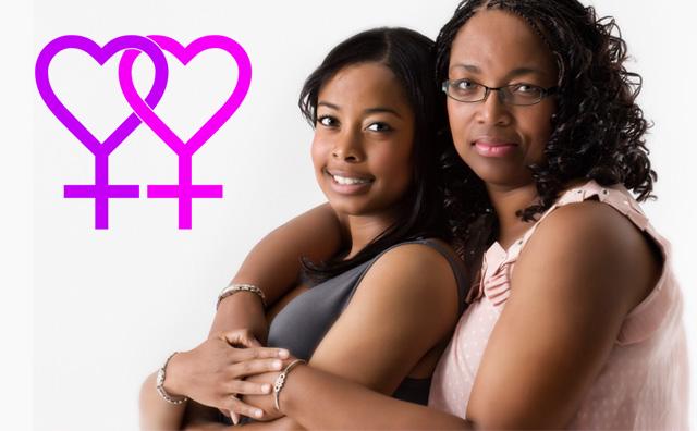 mama si fiica lesbiene